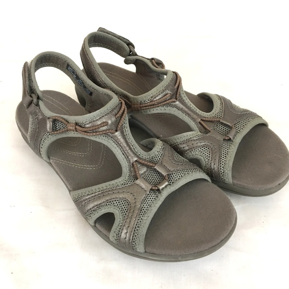 Motion Comfort Walking Sandals Womens